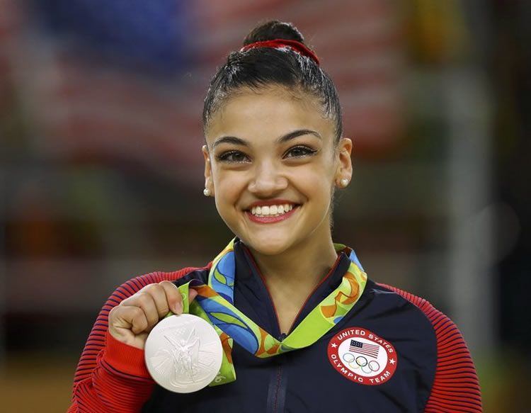 Photo de Laurie Hernandez